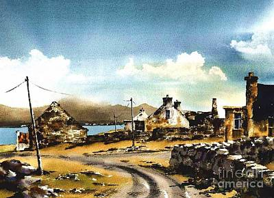 Painting - The Maharees, Castlegregory, Kerry...7211 by Val Byrne