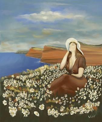 Digital Art - The Maiden by Brett Winn