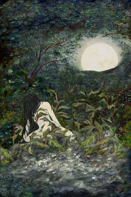 Painting - The Maiden by FT McKinstry