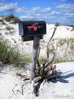 Kindred Spirits Photograph - The Mailbox by Rod Farrell