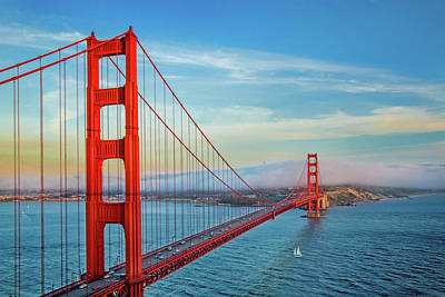 Golden Gate Photograph - The Majestic by Az Jackson