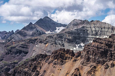 White River Photograph - The Majestic Castle Peak  by Aaron Spong