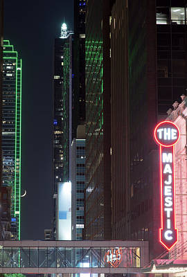 Photograph - The Majestic Dallas 092317 by Rospotte Photography