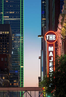 Photograph - The Majestic Dallas Sept 22 2017 by Rospotte Photography