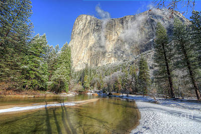 Photograph - The Majestic El Capitan Yosemite National Park by Wayne Moran