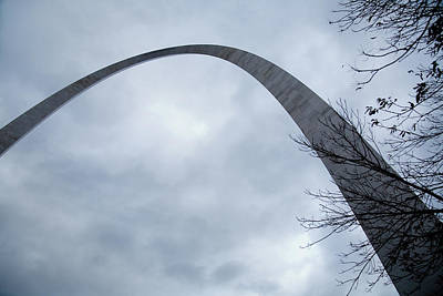 Photograph - The Majestic Gateway Arch by David Coblitz