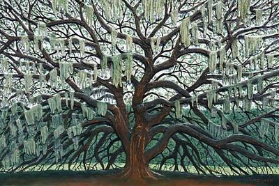 Majestic Oak  Original by Nathan Ledyard