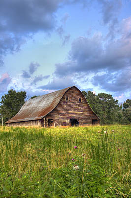 Rem Photograph - The Majestic Philomath Barn  by Reid Callaway