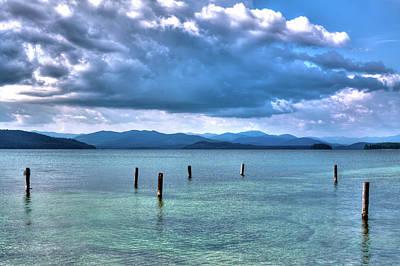 Photograph - The Majestic Priest Lake by David Patterson