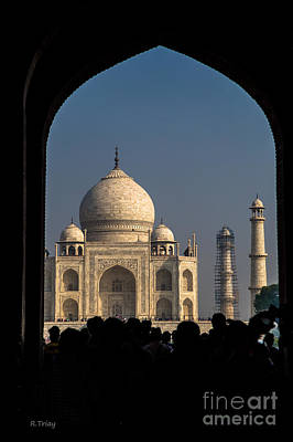 Photograph - The Majestic Taj Mahal by Rene Triay Photography