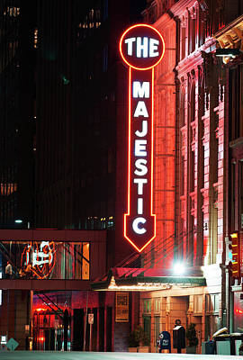 Photograph - The Majestic Theater Dallas by Rospotte Photography