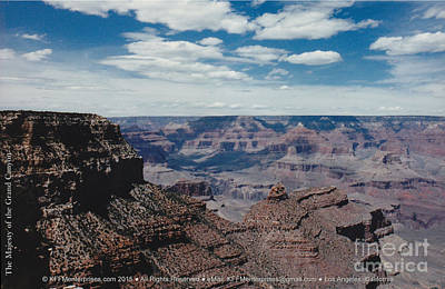 Photograph - The Majesty Of The Grand Canyon by Kevin Montague