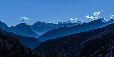Greatness Photograph - The Majesty Of The Mountains by Mah FineArt