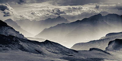 Greatness Photograph - The Majesty Of The Mountains Nr. 3 by Mah FineArt