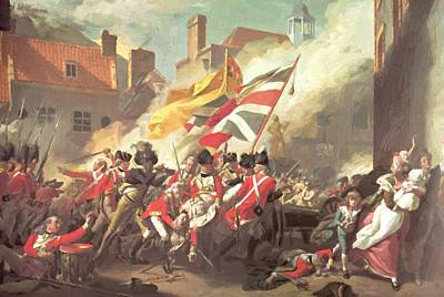 Painting - The Major Peirson Death 1784 by Copley John Singleton