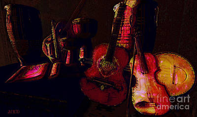 Violin Digital Art - The Making Of A Symphony by Gallery  Beguiled
