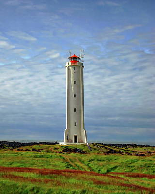 Photograph - The Malarrif Lighthouse by Anthony Dezenzio