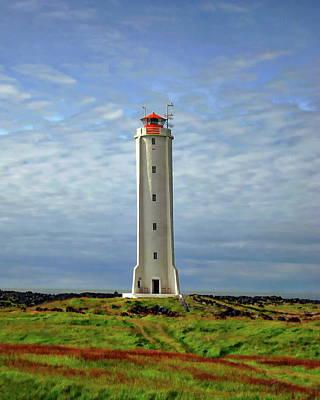 Photograph - The Malarrif Lighthouse by Anthony Dezenzio