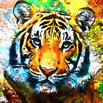 The Malayan Tiger Art Print