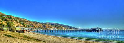 Photograph - The Malibu Pier by Reid Callaway