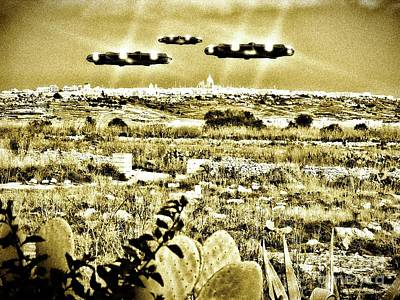 Paranormal Digital Art - The Malta Holiday By Raphael Terra by Raphael Terra