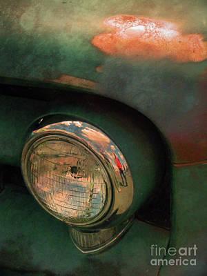 The Man At The Car Show Art Print by Tara Turner