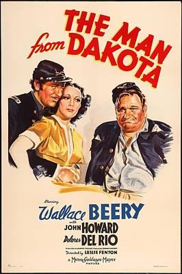 1940s Mixed Media - The Man From Dakota 1940 by Mountain Dreams
