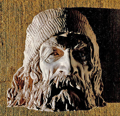 Sculpture - The Man From Thirteenth Street by Vladimir Kozma