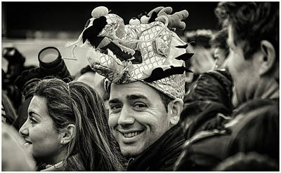 Photograph - The Man In The Dragon Hat by Stewart Marsden