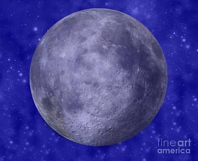 Photograph - The Man In The Moon by Barbara S Nickerson
