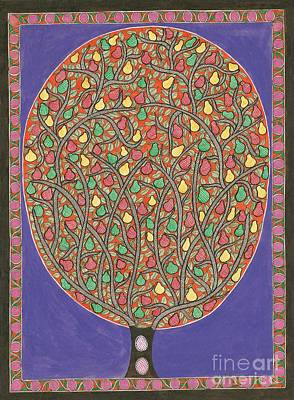 Painting - The Mango Tree by Neeraj kumar Jha