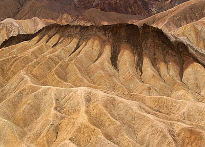 Photograph - The Manifold, Death Valley by Tom Kidd