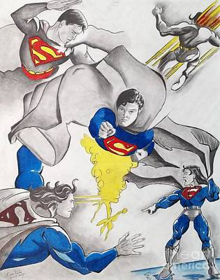 The Many Faces Of Superman Original