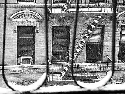 Photograph - The Many Names Of Snow - Winter In New York by Miriam Danar