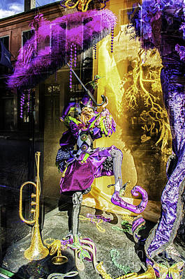 The Mardi Gras Jester Art Print