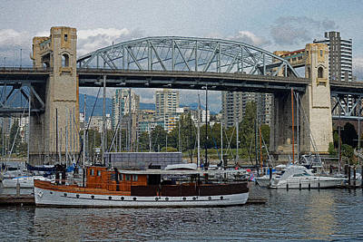 Photograph - The Marina At Granville Island by Connie Fox