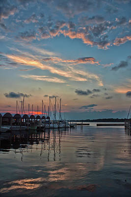 Photograph - The Marina  by Debra Forand