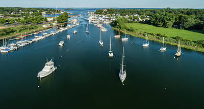 Photograph - The Marina In Mamaroneck by Alex Potemkin