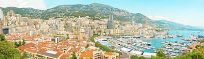 Photograph - The Marina In Monaco by Marek Poplawski