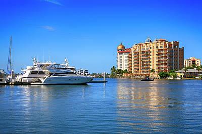 Photograph - The Marina Sarasota Fl by Chris Smith