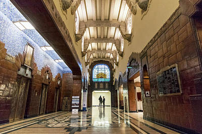 Photograph - The Marine Building by Ross G Strachan