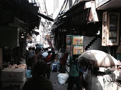 Photograph - The Market Hustle by LeLa Becker