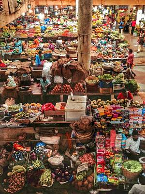Photograph - The Market by LeLa Becker