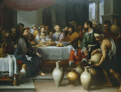 The Marriage Feast At Cana Art Print