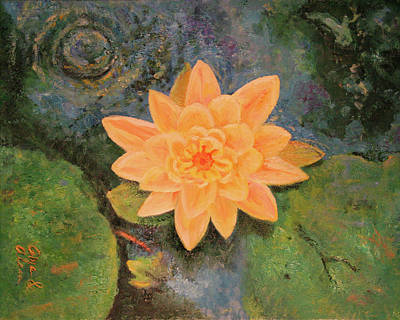 Painting - The Marriage Lotus by Alan Schwartz