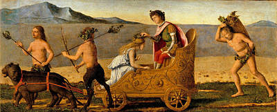 Painting - The Marriage Of Bacchus And Ariadne by Giovanni Battista Cima
