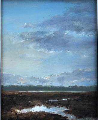 Painting - The Marsh by Cheryl Green