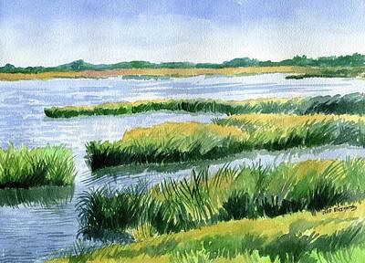 Painting - The Marsh by Jeff Blazejovsky