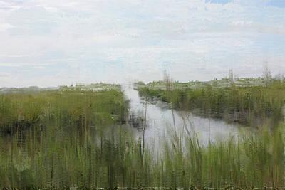 Watercolor Pet Portraits Digital Art - The Marsh by Kim Curinga
