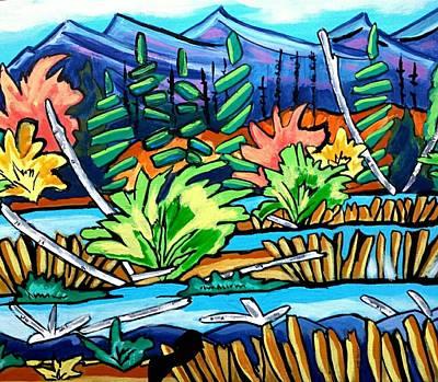 Painting - The Marsh by Nikki Dalton